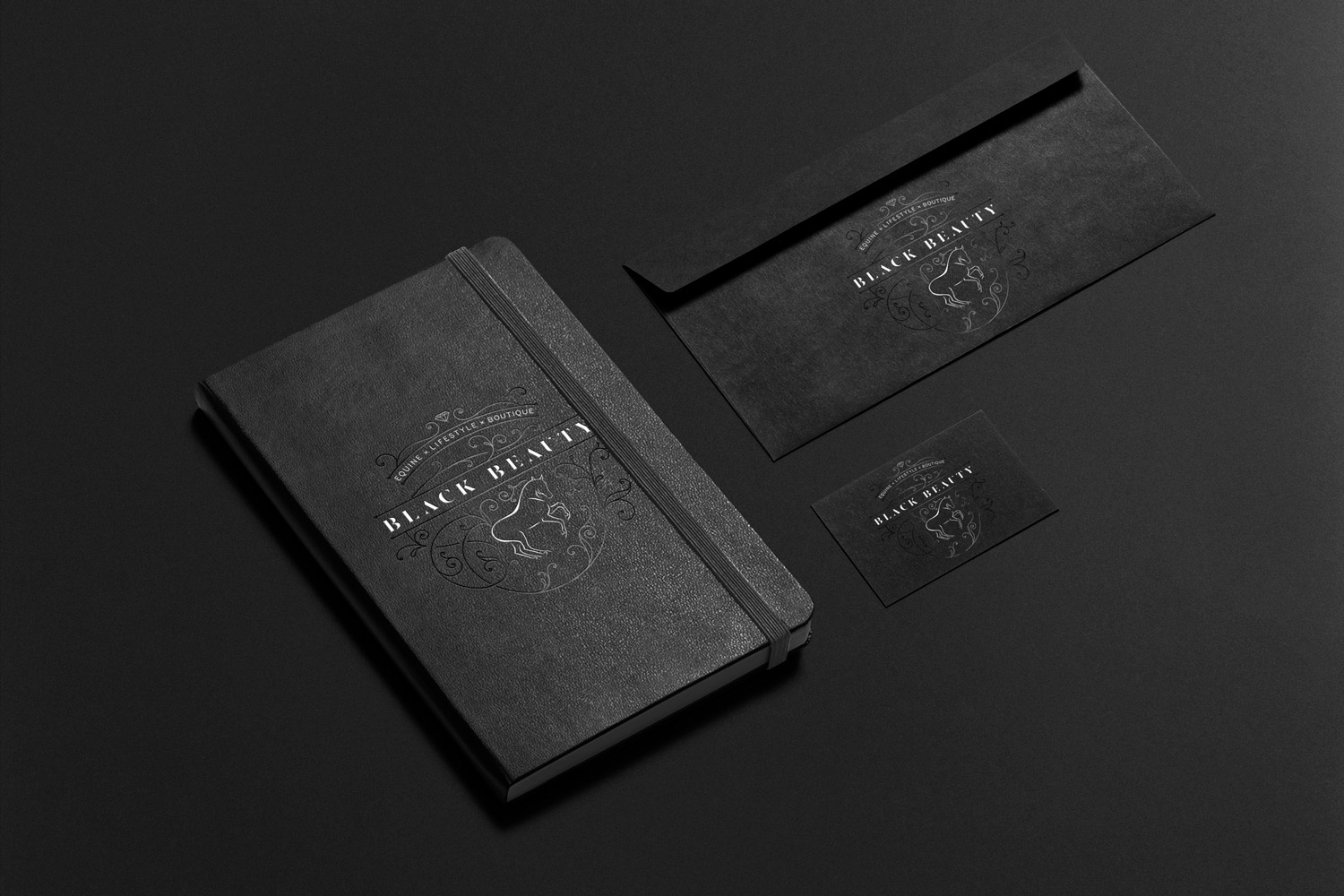 Black Beauty: Stationery